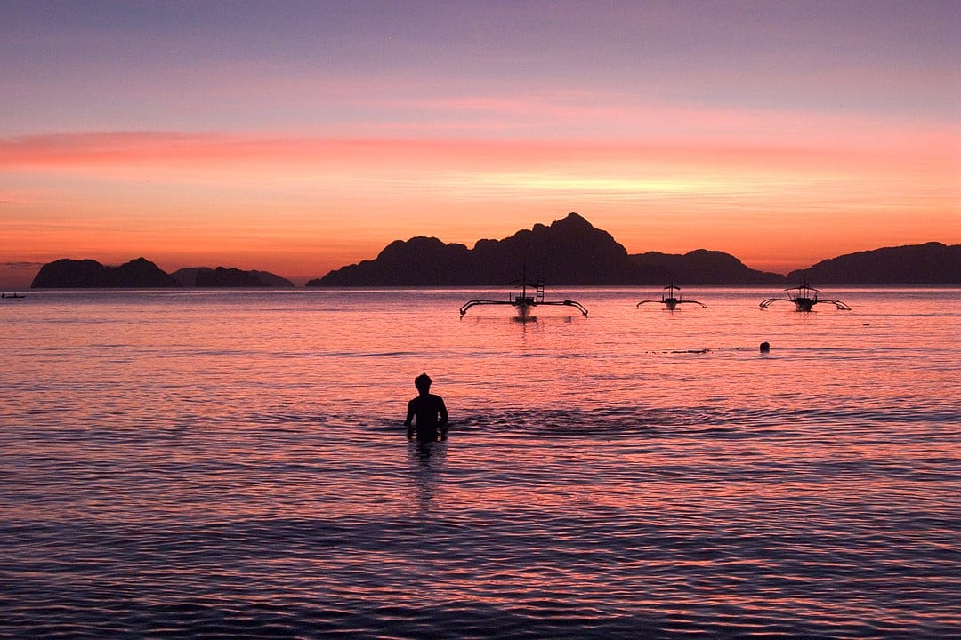 things to do in el nido sunset