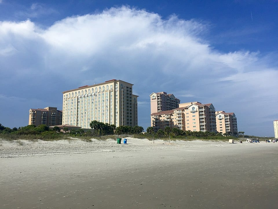 accommodation in Myrtle Beach