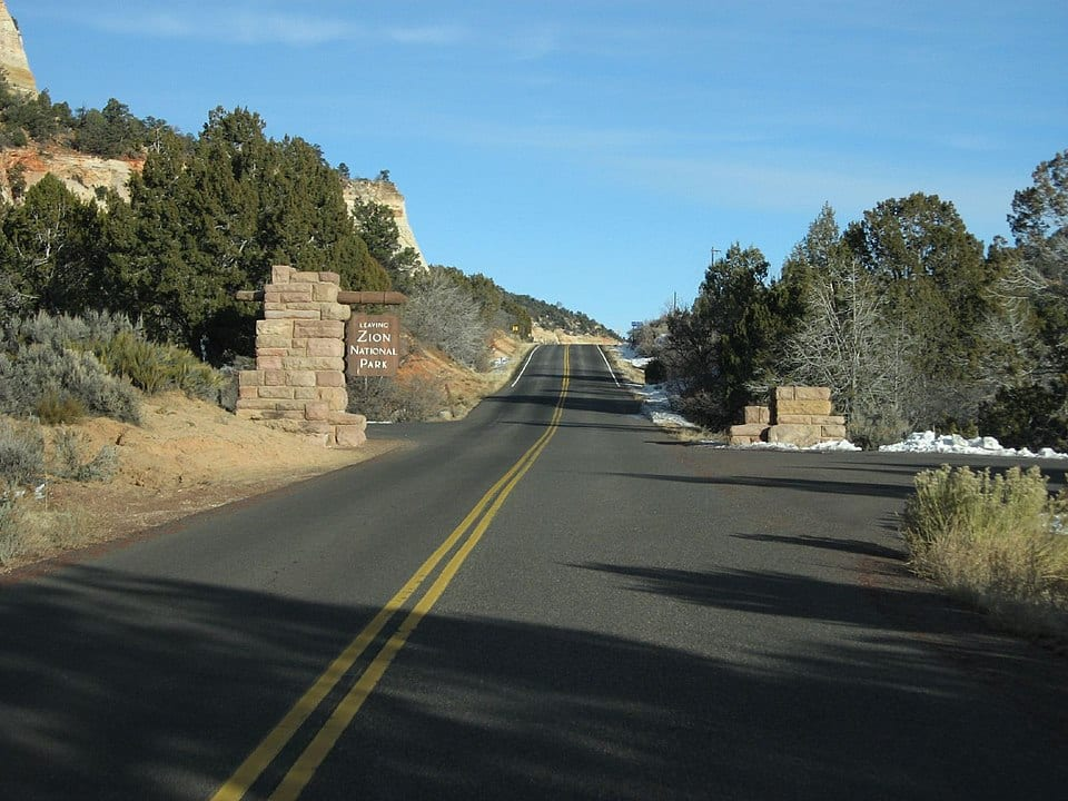 nearby destinations to Zion