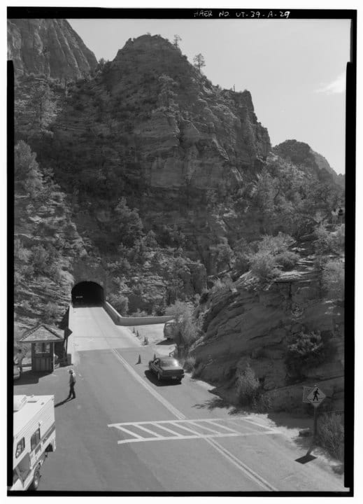 history of Zion national park
