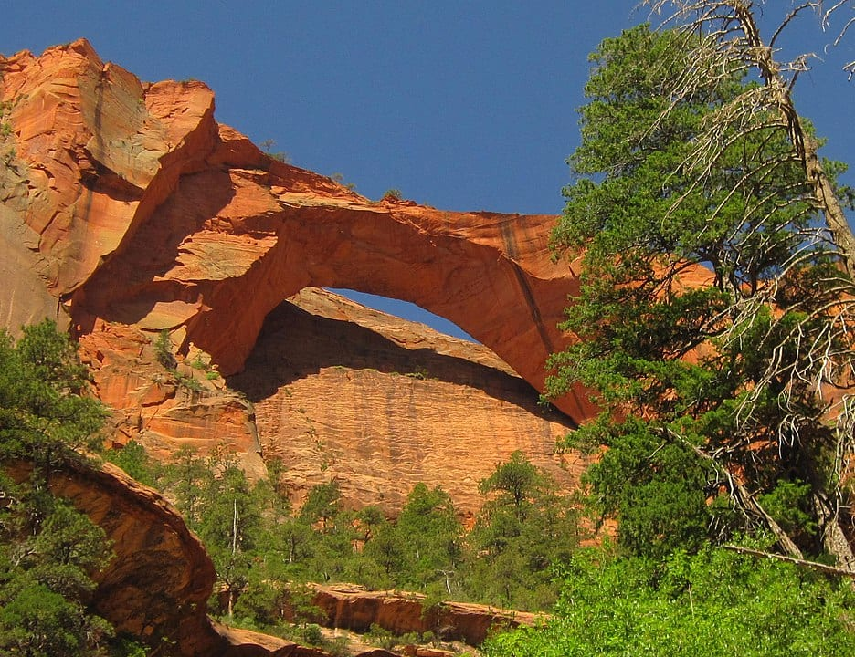 geography of Zion national park