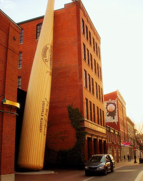 things to do in Kentucky Louisville slugger museum